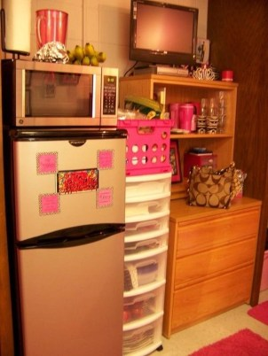 Genius Dorm Room Space Saving Storage Ideas 35