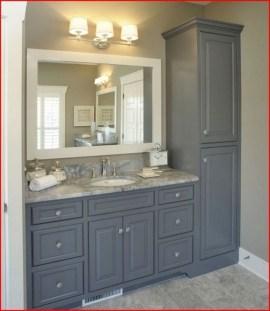 Gorgeous Bathroom Vanity Mirror Design Ideas 32