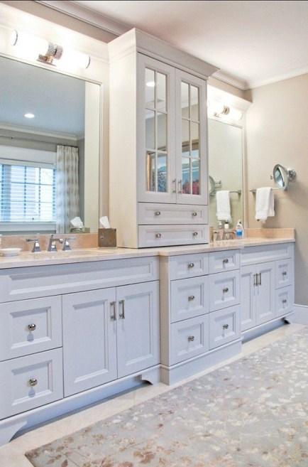Gorgeous Bathroom Vanity Mirror Design Ideas 46
