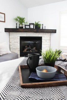 Inspiring Corner Fireplace Ideas In The Living Room 02