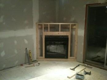 Inspiring Corner Fireplace Ideas In The Living Room 07
