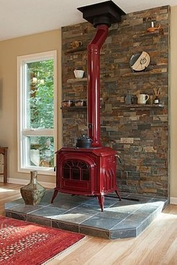 Inspiring Corner Fireplace Ideas In The Living Room 24