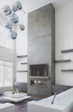 Inspiring Corner Fireplace Ideas In The Living Room 26
