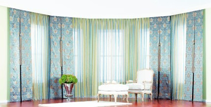 Modern Curtain Designs For Living Room 04