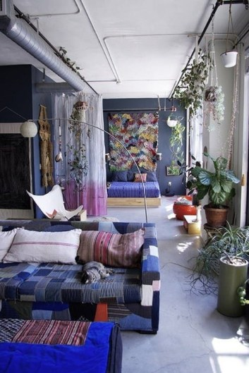 Modern Curtain Designs For Living Room 08