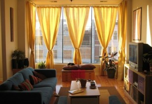 Modern Curtain Designs For Living Room 11