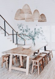 Modern Diy Wooden Dining Tables Ideas 24
