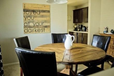 Modern Diy Wooden Dining Tables Ideas 31