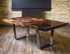 Modern Diy Wooden Dining Tables Ideas 43