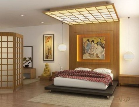 Modern But Simple Japanese Styled Bedroom Design Ideas 21
