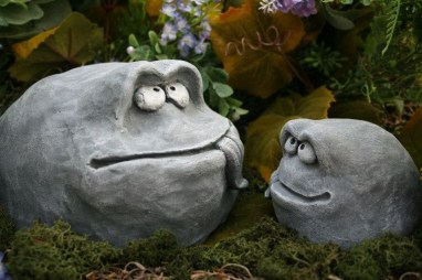 RSimple Rock Garden Decor Ideas For Front And Back Yard 32