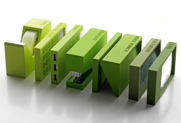 Relaxing Green Office Décor Ideas 40