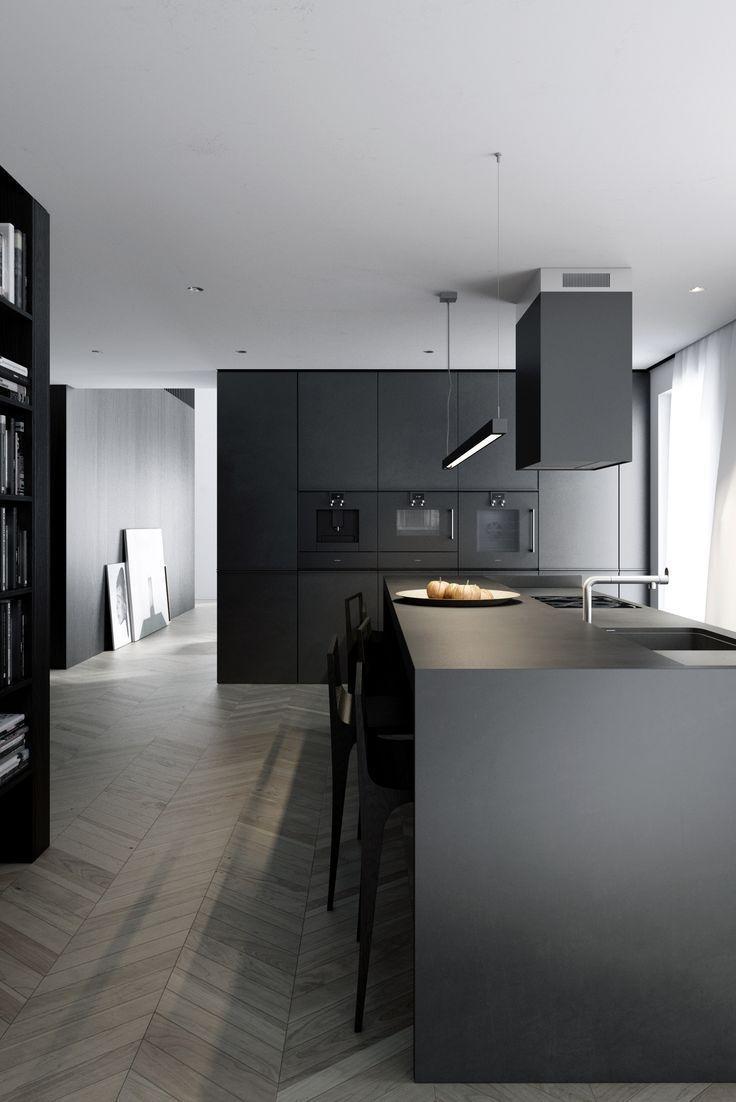 Relaxing Minimalist Kitchen Design Ideas 40