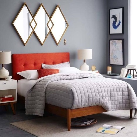 Stunning Mid Century Furniture Ideas To Makes Your Room Have Vintage Touch 38