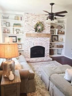 Totally Inspiring Modern Farmhouse Living Room Design Ideas 25