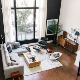 Totally Inspiring Modern Farmhouse Living Room Design Ideas 27