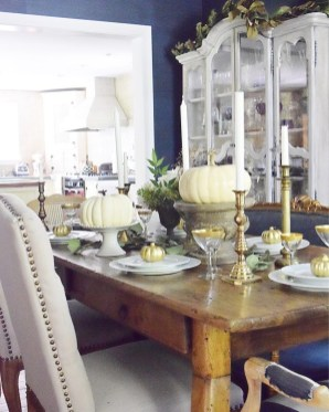 Awesome French Farmhouse Fall Table Design 15