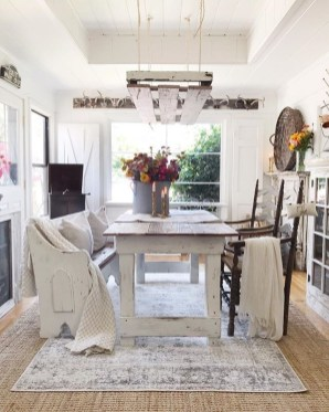 Awesome French Farmhouse Fall Table Design 18