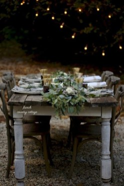 Awesome French Farmhouse Fall Table Design 21