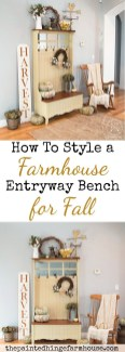 Awesome French Farmhouse Fall Table Design 41