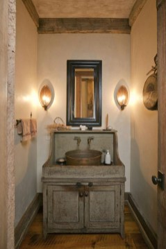 Awesome Rustic Farmhouse Vanities Ideas 08