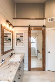 Awesome Rustic Farmhouse Vanities Ideas 20
