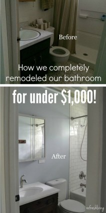 Brilliant Bathroom Remodel Ideas And Makeover Design 34