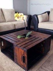 Comfy Rustic Living Room Decor Ideas 06