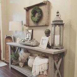 Comfy Rustic Living Room Decor Ideas 21
