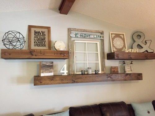 Comfy Rustic Living Room Decor Ideas 46