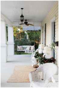 Cozy Fall Porch Farmhouse Style 01