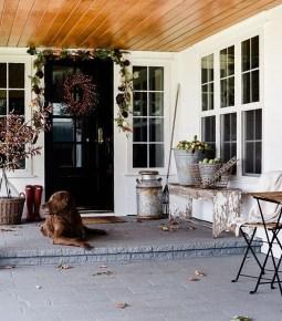 Cozy Fall Porch Farmhouse Style 03