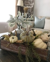 Cozy Fall Porch Farmhouse Style 19