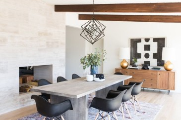 Creative Dining Room Rug Design Ideas 25