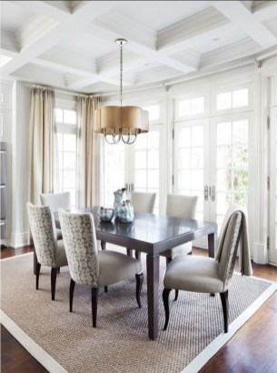Creative Dining Room Rug Design Ideas 41
