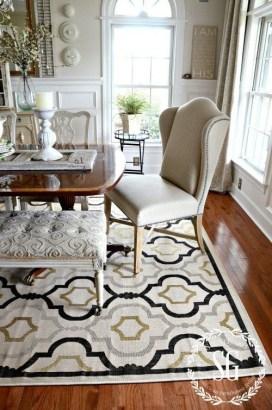 Creative Dining Room Rug Design Ideas 43