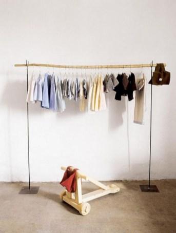 Easy And Practical Clothing Racks For Casual Décor Ideas 06