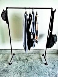 Easy And Practical Clothing Racks For Casual Décor Ideas 11