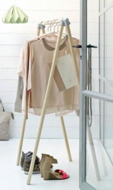 Easy And Practical Clothing Racks For Casual Décor Ideas 18