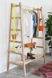 Easy And Practical Clothing Racks For Casual Décor Ideas 29