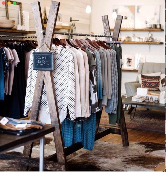 Easy And Practical Clothing Racks For Casual Décor Ideas 37