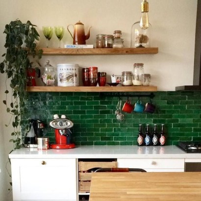 Inspiring Bohemian Style Kitchen Decor Ideas 06