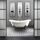 Luxury Black And White Bathroom Design Ideas 30
