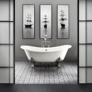 Luxury Black And White Bathroom Design Ideas 30