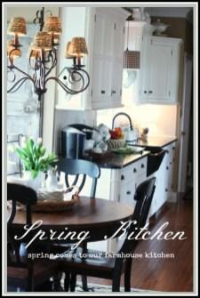 Magnificient Spring Kitchen Decor Ideas 31