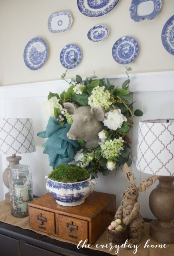 Magnificient Spring Kitchen Decor Ideas 44