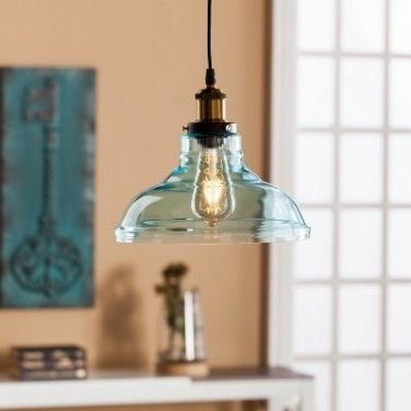 Pretty Aqua Pendant Lamp Ideas 08
