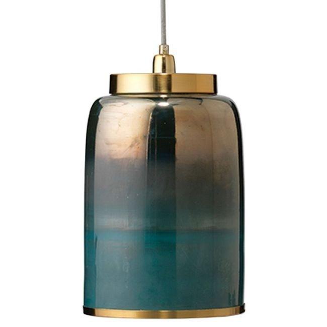 Pretty Aqua Pendant Lamp Ideas 09