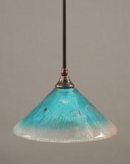 Pretty Aqua Pendant Lamp Ideas 18