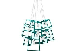 Pretty Aqua Pendant Lamp Ideas 19